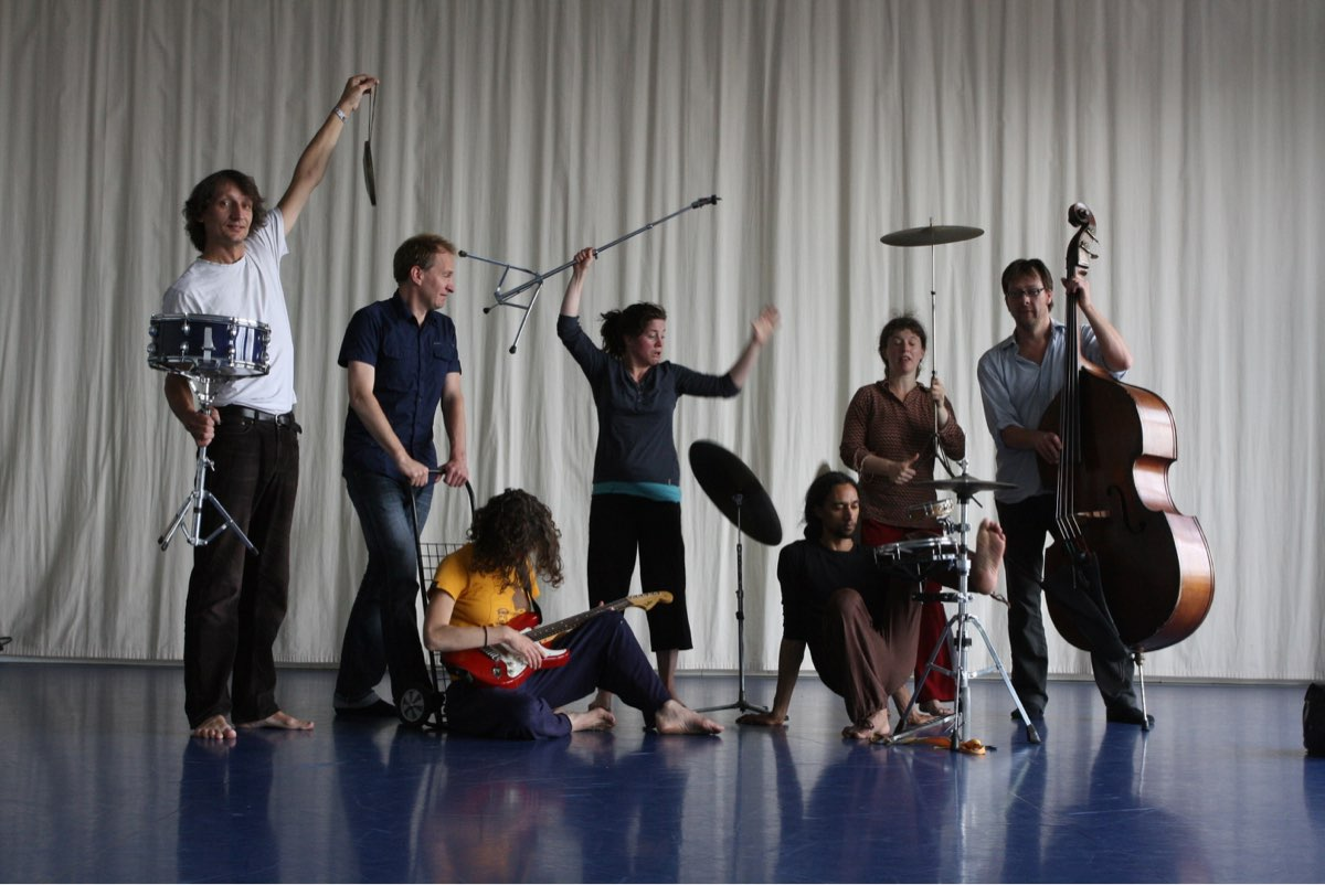 photo of musicians and dancers in nasibu project